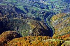 Переход через реку долина Стоковые Изображения RF