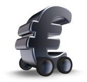 Переходы евро Стоковое фото RF