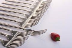 перец вилок стоковое изображение