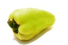 перец зеленого цвета одного Стоковые Изображения RF