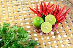 Перец красного chili горячий и пряный Стоковое фото RF