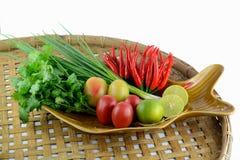Перец красного chili горячий и пряный Стоковое Изображение