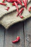 Перец красного Chili Стоковое Изображение