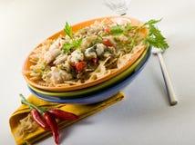 перец макаронных изделия hakeand chili горячий Стоковые Фотографии RF