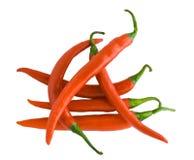 перец chili горячий Стоковое Фото