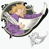 перечени человека иллюстрация вектора