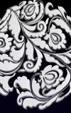 перечень мака motiff Стоковое фото RF