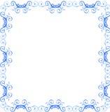 перечень рамки граници Иллюстрация вектора