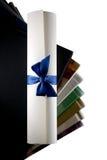 перечень сертификата книг Стоковое Изображение