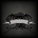 перечень halloween летучей мыши Стоковая Фотография