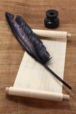 перечень papyrus Стоковое Изображение