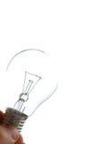 переэкспонированный lightbulb Стоковые Изображения