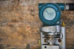 Передатчик давления в нефтяную промышленность нефти и газ для контролируемого процесса, цифрового дисплея радиотехнической аппара Стоковое Фото