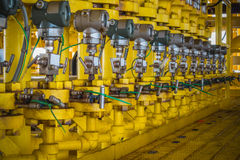 Передатчик давления в процесс нефти и газ Стоковые Изображения