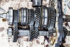 Передача двигателя Стоковое Изображение