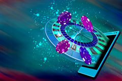 Передвижное казино Стоковые Фото