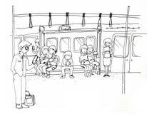 Передвижное общество, каждое smartphone пользы бесплатная иллюстрация