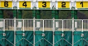 Передвижной барьер на старте Стоковое фото RF