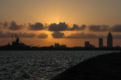 Передвижной залив Стоковые Изображения RF
