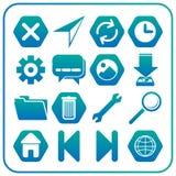 Передвижной значок app Стоковые Фотографии RF