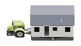 Передвижной дом Стоковое Изображение