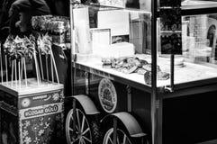 Передвижной пастозный продавец Стоковое Изображение RF
