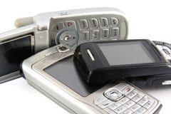 передвижной старый телефон Стоковые Фото