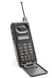 передвижной старый телефон Стоковая Фотография