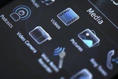 Передвижной умный дисплей телефона Стоковые Фото