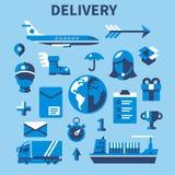 Передвижные связь покупок и обслуживание поставки Стоковые Фото