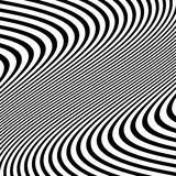 Передернутая абстрактная monochrome картина несимметричного/солдата нерегулярной армии Стоковая Фотография