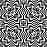 Передернутая безшовная картина Repeatable абстрактное monochrome backg бесплатная иллюстрация