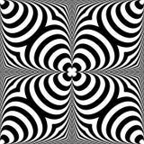 Передернутая безшовная картина Repeatable абстрактное monochrome backg Стоковая Фотография RF