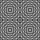 Передернутая безшовная картина Repeatable абстрактное monochrome backg иллюстрация вектора