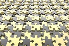 Передернутая головоломка соединяет предпосылку Стоковые Изображения