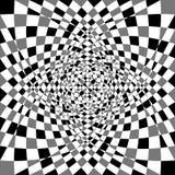 Передернутая, деформированная несимметричная текстура Tessellating грубое, нервный Стоковая Фотография RF
