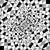 Передернутая, деформированная несимметричная текстура Tessellating грубое, нервный Стоковые Фотографии RF