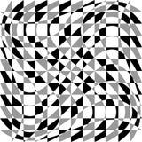 Передернутая, деформированная несимметричная текстура Tessellating грубое, нервный Стоковые Изображения RF