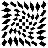 Передернутая сетка, геометрический элемент решетки Скачками visual мозаики иллюстрация штока