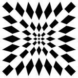 Передернутая сетка, геометрический элемент решетки Скачками visual мозаики Стоковые Фотографии RF