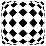Передернутая сетка, геометрический элемент решетки Скачками visual мозаики иллюстрация вектора
