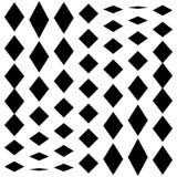 Передернутая сетка, геометрический элемент решетки Скачками visual мозаики Стоковая Фотография