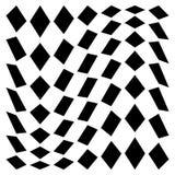 Передернутая сетка, геометрический элемент решетки Скачками visual мозаики Стоковые Фото