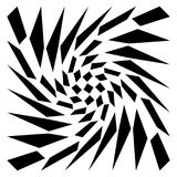 Передернутая сетка, геометрический элемент решетки Скачками visual мозаики Стоковое фото RF