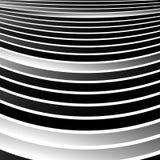 Передернутые, снованные линии геометрическая monochrome картина Чернота и бесплатная иллюстрация