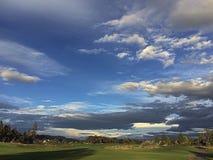Перед заходом солнца Стоковые Фотографии RF