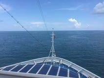 Переднее туристическое судно победы масленицы Стоковое фото RF