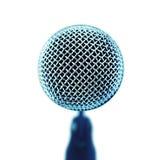 передний взгляд микрофона Стоковые Фотографии RF