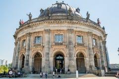 Передний фасад пообещанного музея в Берлине Стоковые Фотографии RF