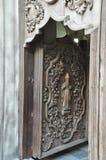 Передняя дверь церков в Маниле Стоковое Изображение